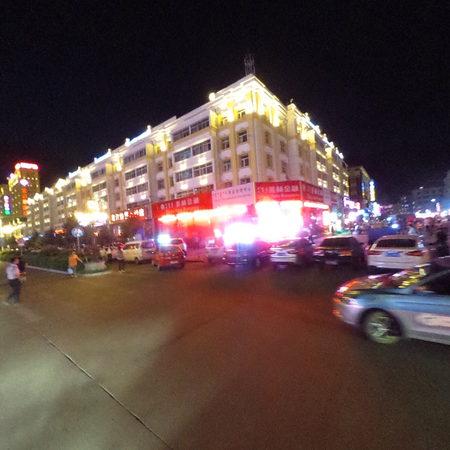动景+城市夜景